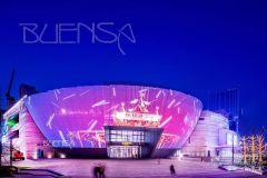 杭州艺术购物中心,一天的光影世界