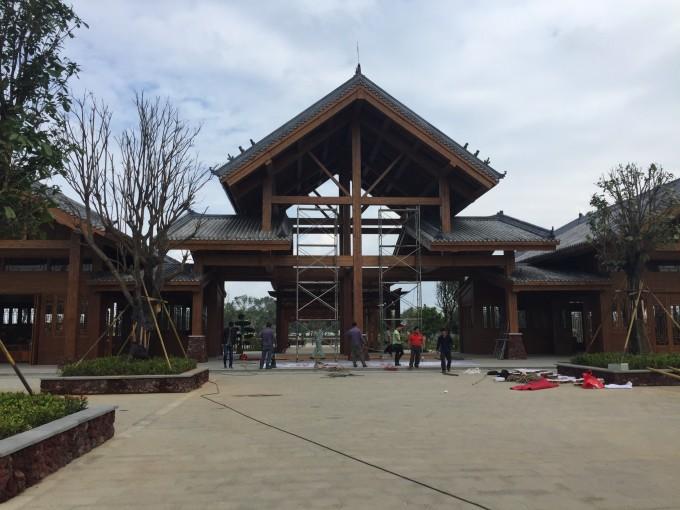 游览海南省儋州市中和镇东郊的东坡书院
