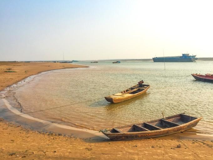 """为了心中向往的""""最美水上公路"""" 探寻千年古镇吴城 鄱阳湖候鸟保护区的"""