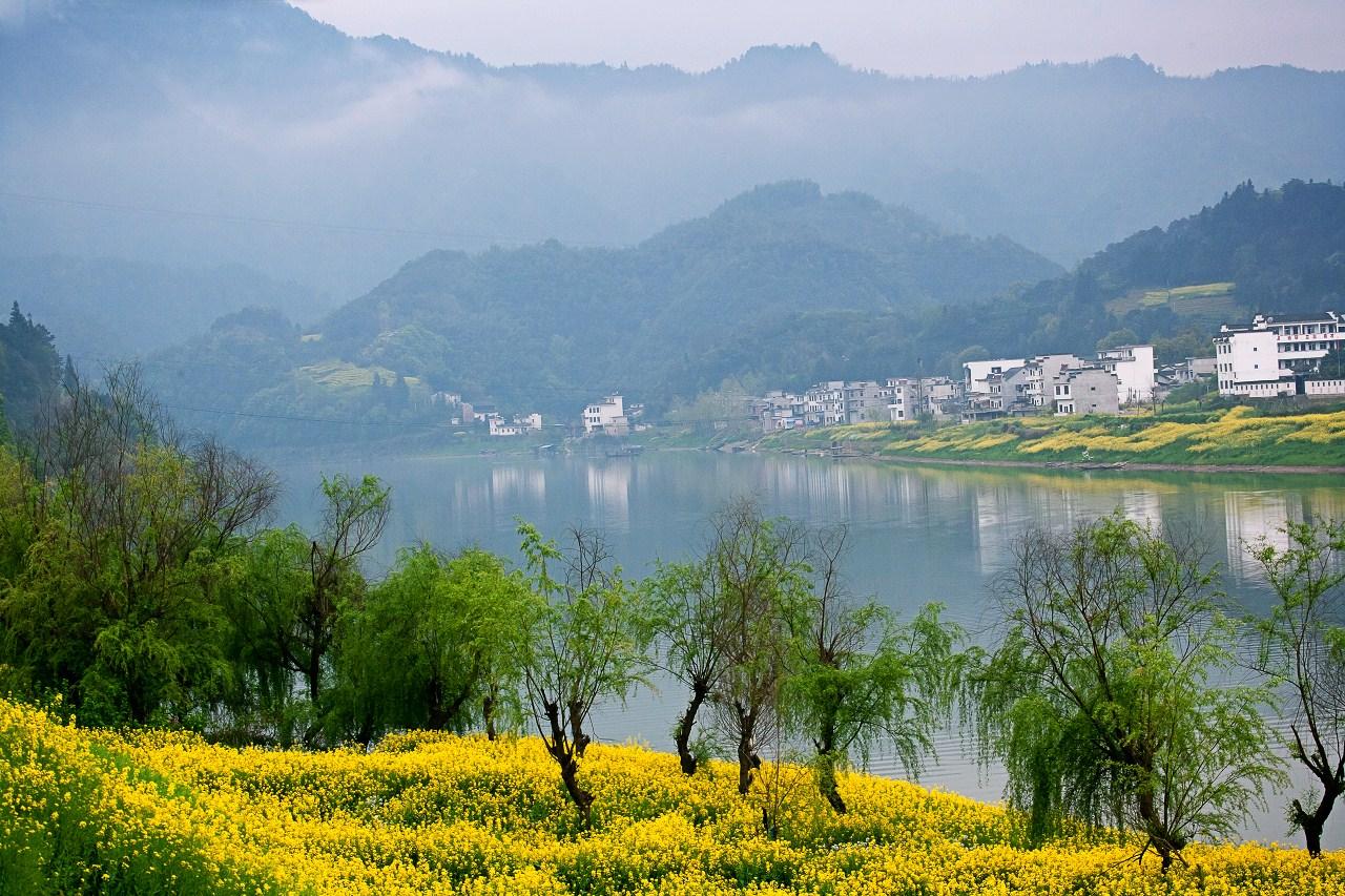 黄山 新安江山水画廊官方成人票 含新安渔风千古情+游船(当天可预订
