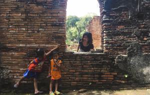 【大城图片】泰国十日多重体验之四   大城你好