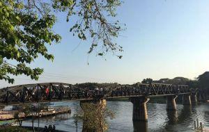 【北碧图片】泰缅边界——北碧(Erawan)爱侣湾国家公园里的七层瀑布