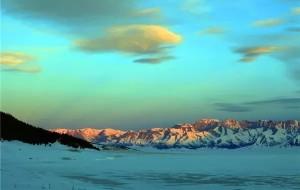 【博乐图片】绚丽的冬日 赛里木湖