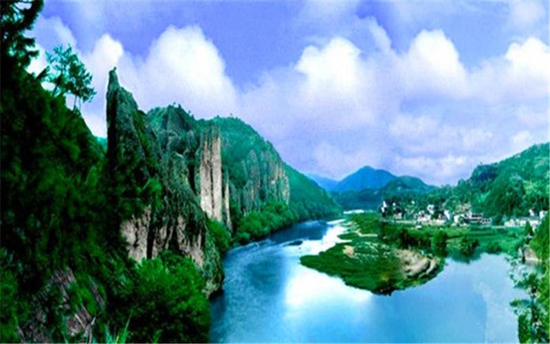 麗水仙都風景區鼎湖峰,芙蓉峽,朱潭山,趙侯祠景點門票