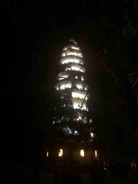 第一次旅行照片 阆中古城夜景  白塔山登顶  第3天:收拾退房后,驱车