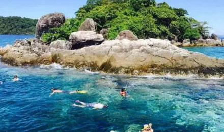 泰国象岛出海一日游 中餐厅同款 五岛浮潜一日游 赠送