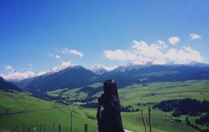 【伊宁图片】六月,去伊犁河谷遇见雪山草原鲜花湖泊和你
