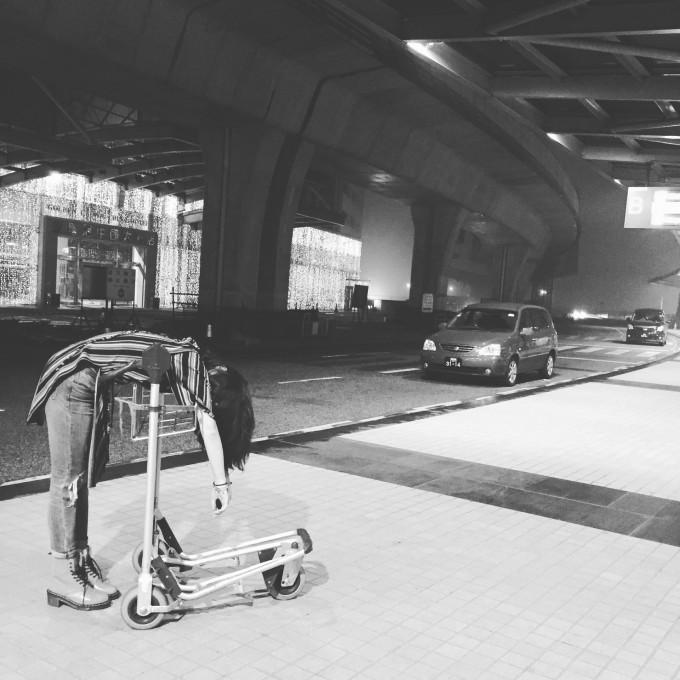 澳门机场的空调是我感受过最冷的……飞机上也很冷!