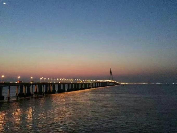漓江最美大桥之杭州湾旅游攻略游中国跨海公路图片