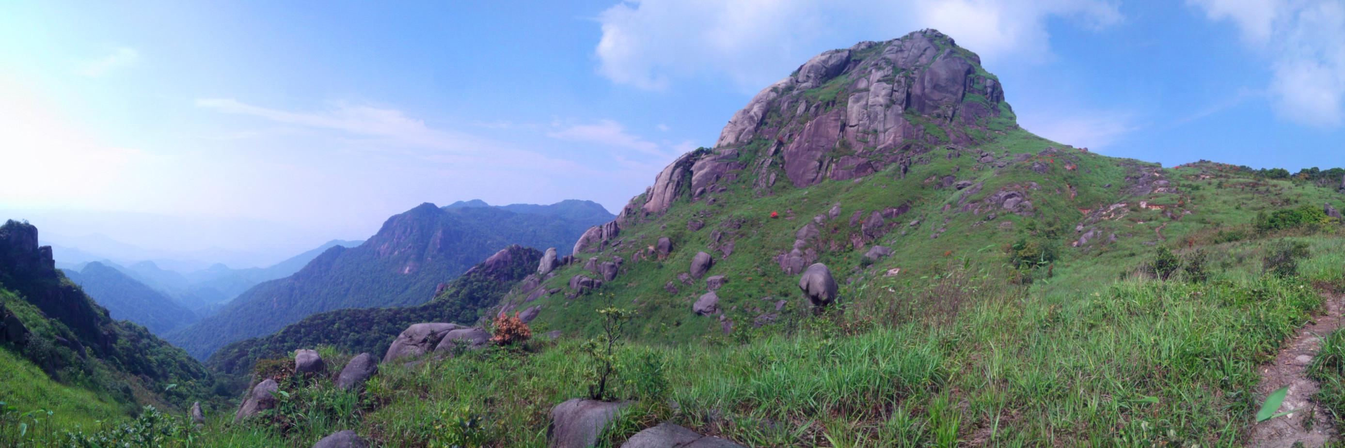 广州几步路相约之难忘大东山重装穿越