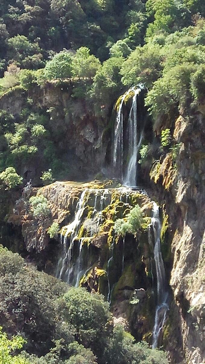 木里映像5—沙湾云南堡瀑布,瓦尔寨大寺