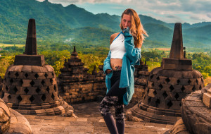 【日惹图片】跨国情侣环游印尼30天 巴厘岛只是冰山一角,火山沙滩森林巨龙部落,印尼拥有你想要的一切!