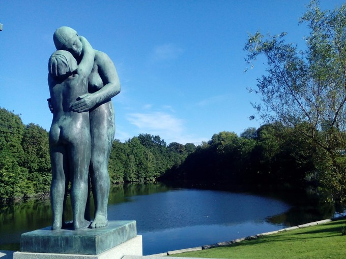 瑞典生命公园雕塑