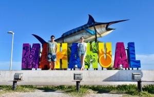 墨西哥娛樂-Mahahual Beach