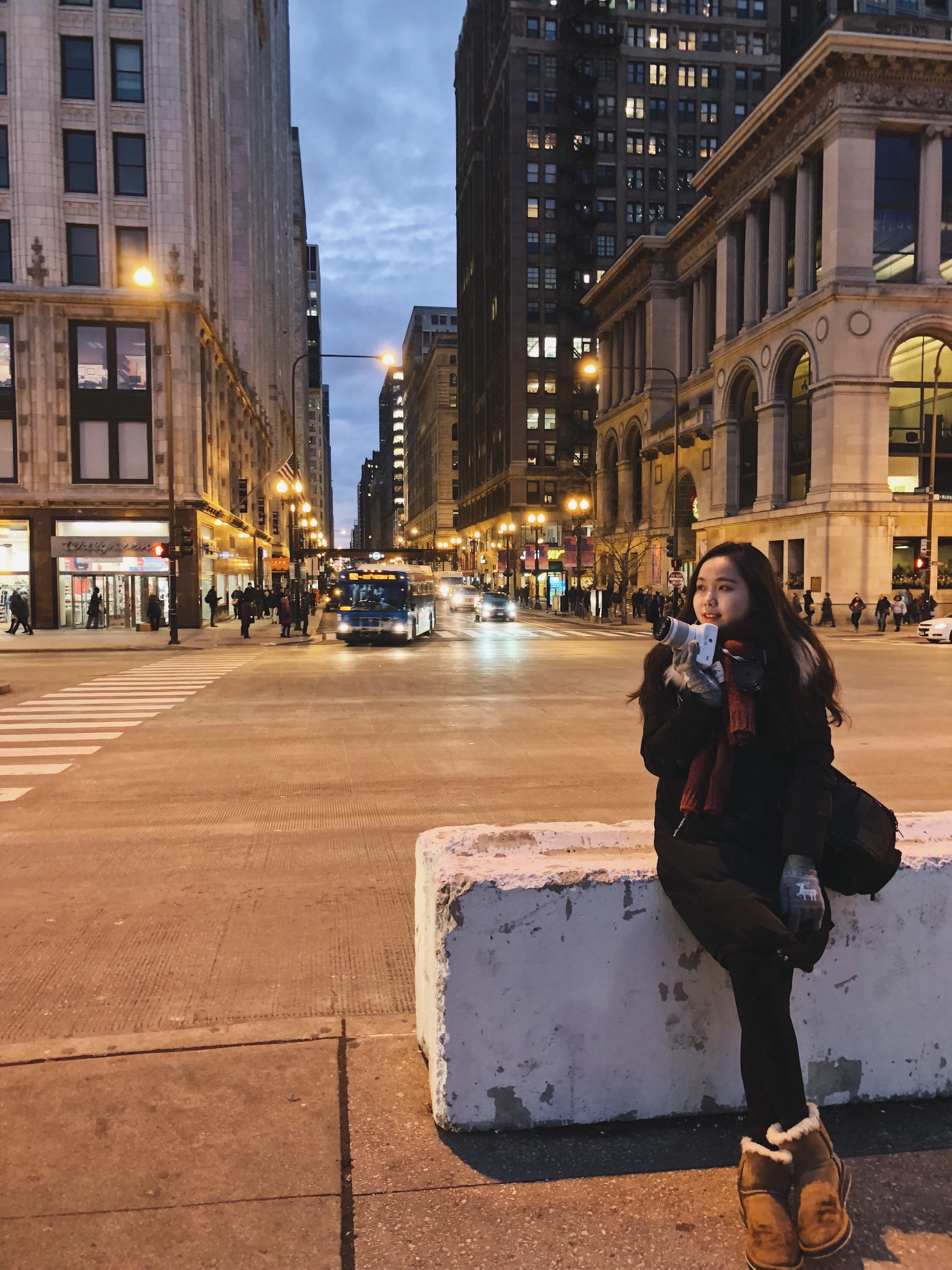 Christmas Trip to Chicago-Beauty Travel