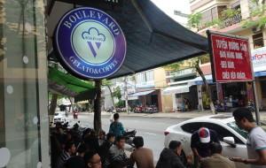 岘港美食-Boulevard Gelato & Coffee