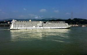 【宜昌图片】航行在烟雨三峡的水墨长卷中,叹江山如此多娇