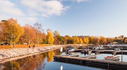 芬兰小镇雕塑公园