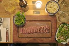 【伦敦。美食】小资旅行必访推荐Flat Iron Steak(10镑牛排)。