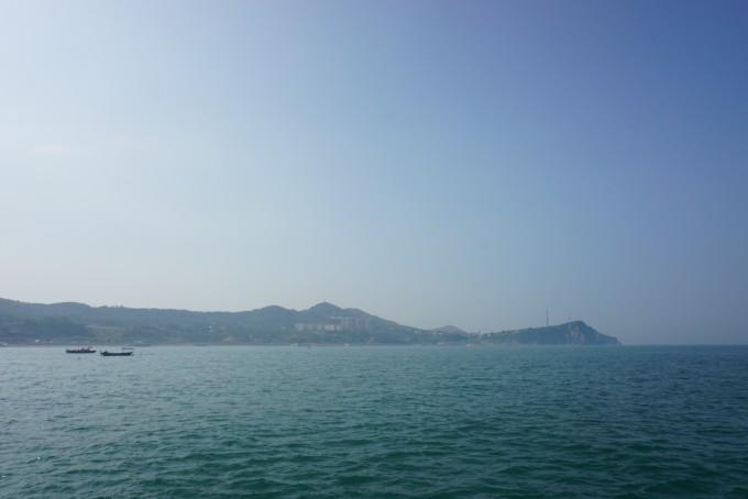 8.5 第一天:黄渤汇,峰山林海