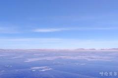 呼伦贝尔旅游地图——冬日呼伦湖