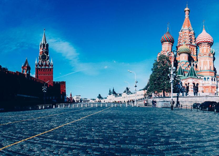 莫斯科 克里姆林宫大教堂广场入场券图片