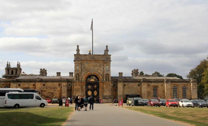 布伦海姆宫(英)·英爱冰比荷5 3欧洲游记(37)