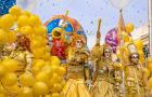 法国 尼斯 Carnaval de Nice狂欢节 (花车巡游+彩车灯光巡游)