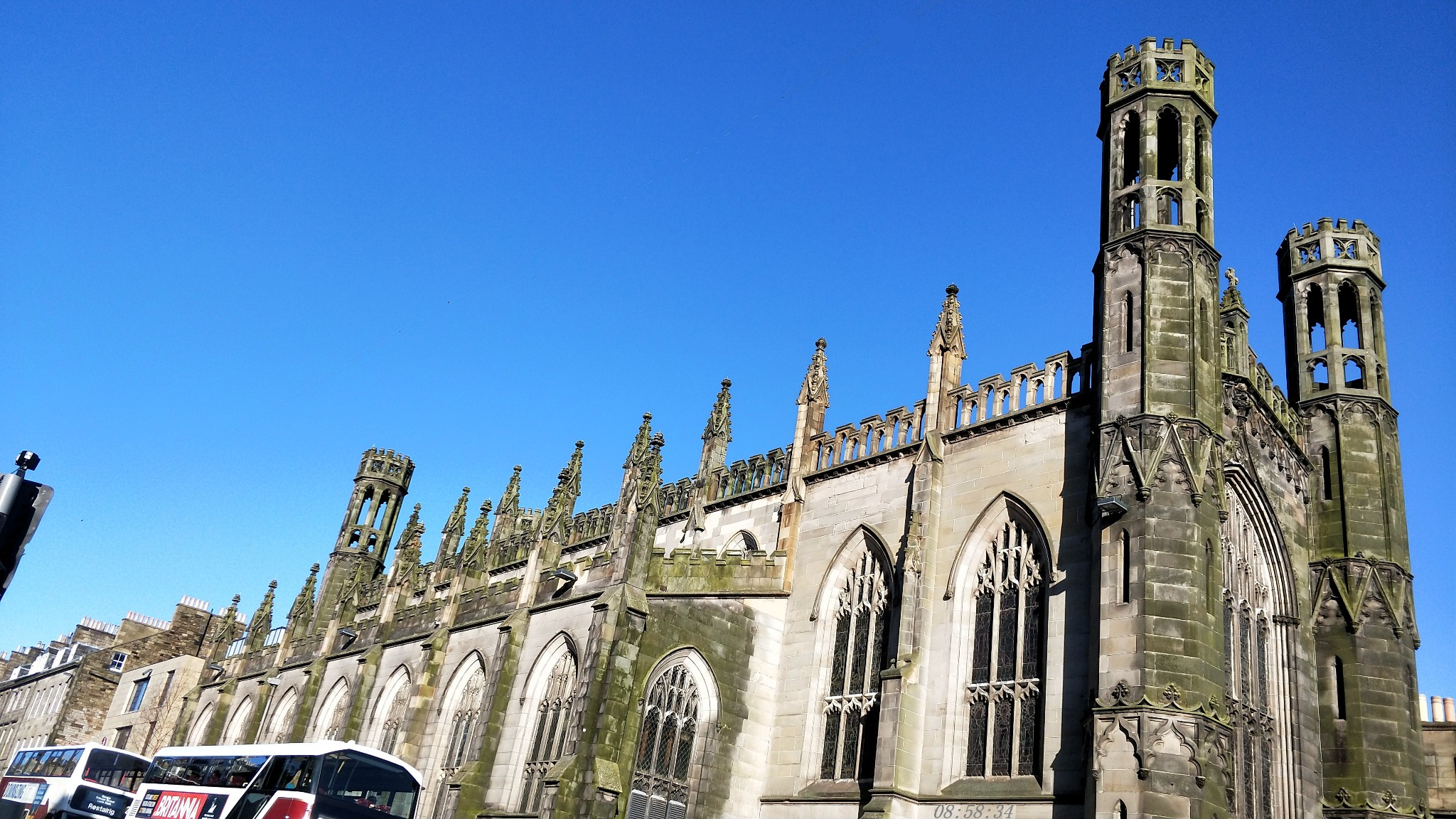 7爱丁堡城——古代与现代,交错。_游记