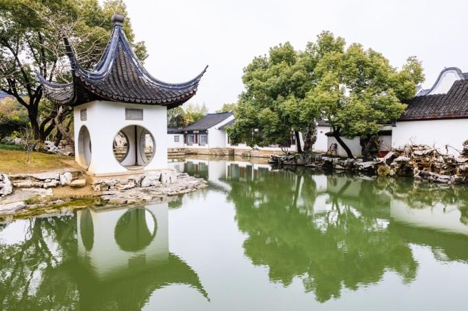 苏州园林之静思园图片
