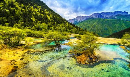 壁纸 风景 山水 摄影 桌面 440_260