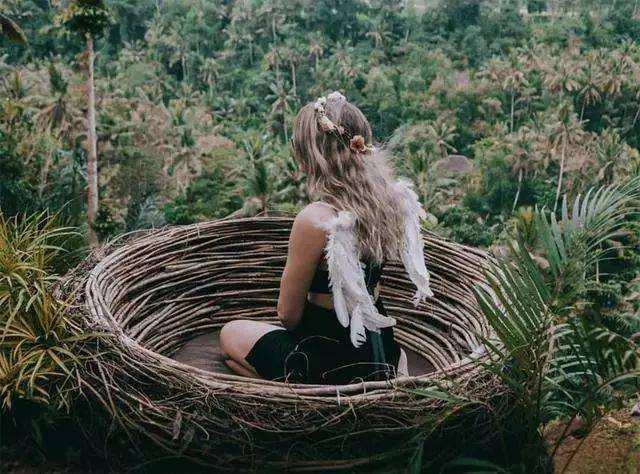 巴厘岛丨这岛这些事,第六期,网红明星瀑布与秋千。