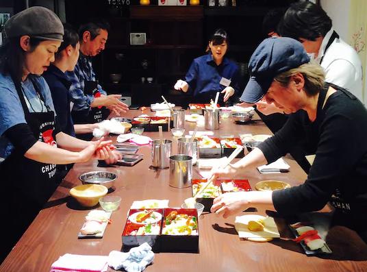 东京日本料理制作体验