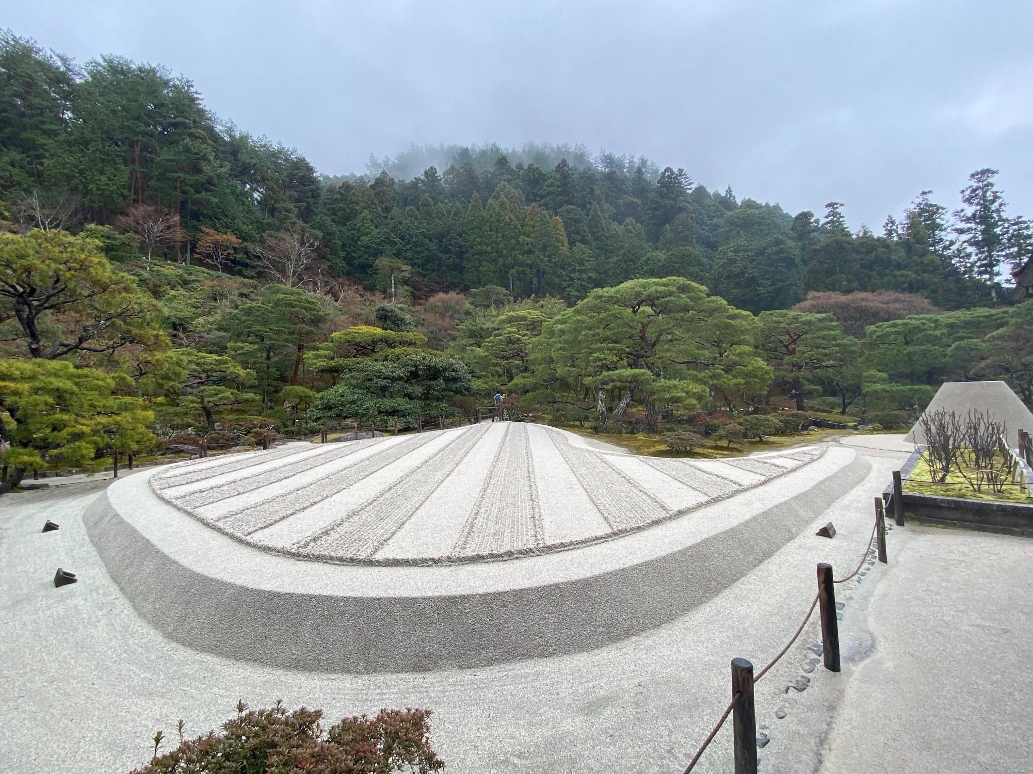 2020年1月日本之旅——京都银阁寺_游记