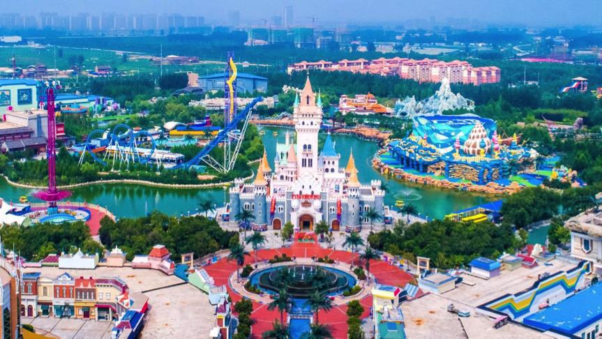 方特主题乐园陆续开园 芜湖、郑州方特欢乐回归