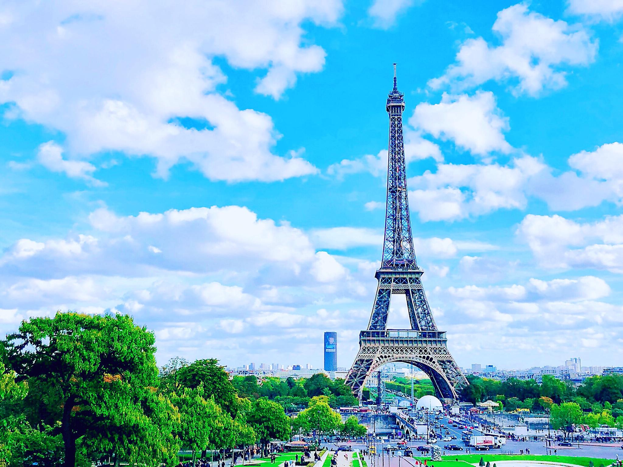 ·百年风华绝代是巴黎_游记