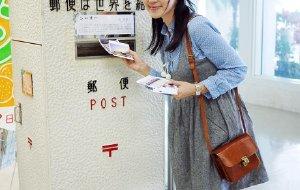 【冲绳图片】沖繩的購物樂趣与旅行的明信片