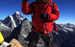 【四姑娘山图片】2012年的第一天----登顶玄武峰(5380米)