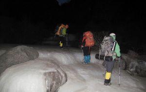 【小五台图片】20120211 小五台徒步之冰天雪地