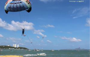 芭提雅娱乐-芭提雅空中降落伞