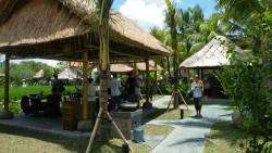 巴厘岛美食-Bebek Tepi Sawah Restaurant Ubud