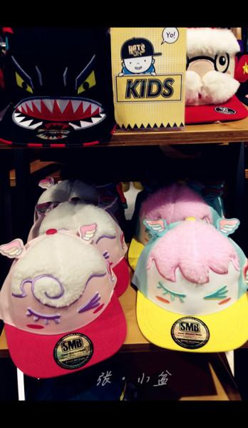 好可爱的儿童帽,可惜我带不了