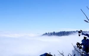 【洪雅图片】雪山上的快乐---瓦屋山