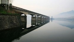 丹东景点-河口断桥
