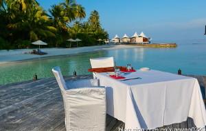 马尔代夫美食-Fish餐厅(W岛)