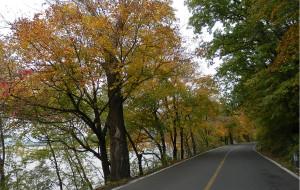 【松花湖图片】吉林松花湖-秋天的童话般的色彩