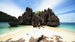 菲律宾景点-秘密海滩(Secret Lagoon Beach)