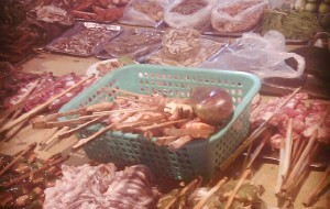 西双版纳美食-岩温秀傣味烧烤