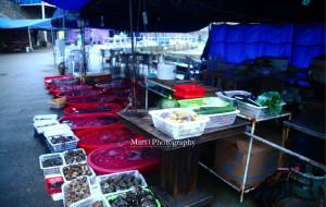 东极岛美食-石码头海鲜大排档