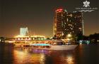 曼谷 夜游湄南河船票+晚餐(可选白兰花号/璀璨明珠号/大珍珠号/昭帕耶公主号/昭帕耶号+优先安排甲板位+甲板位不加价+快速出票)